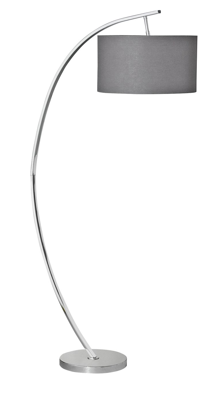 Argos Home Clane Arch Floor Lamp - Grey