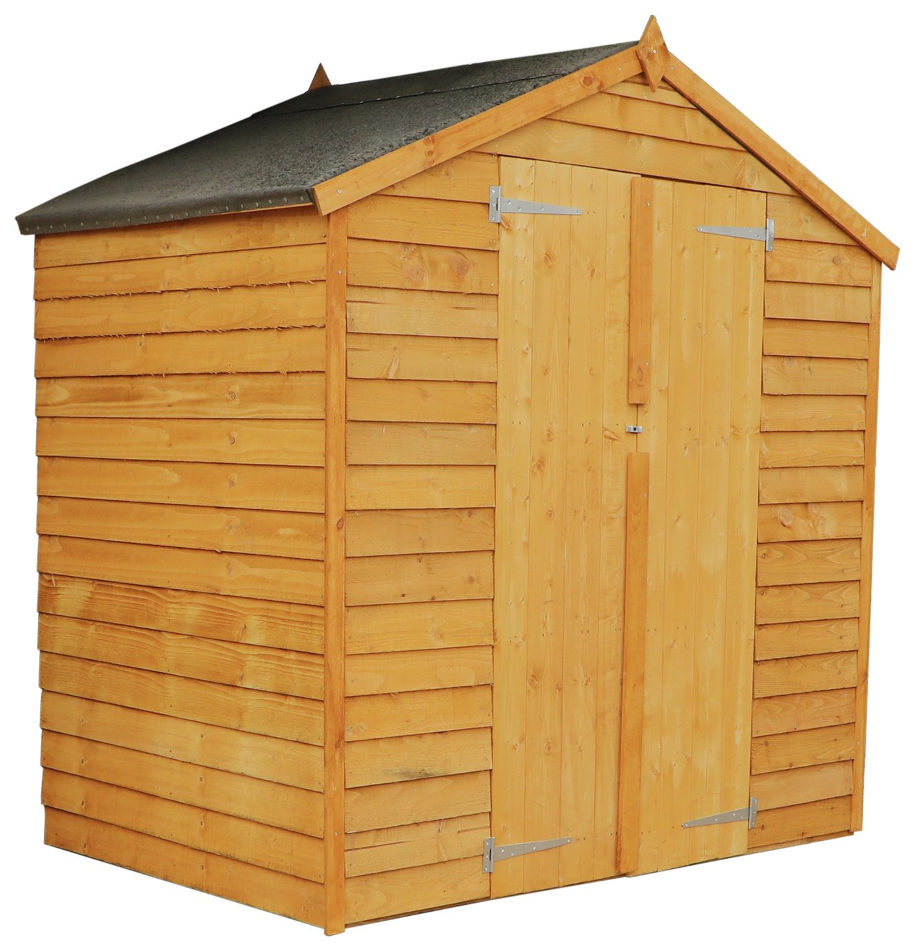 Mercia Wooden 4 x 6ft Overlap Windowless Apex Shed