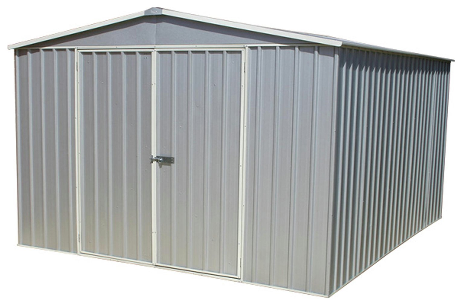 Mercia Absco Premier Titanium Metal Shed - 2 26 x 3m
