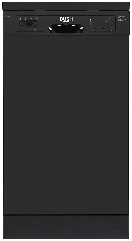 'Bush Bfslnb9b Slimline Dishwasher - Black