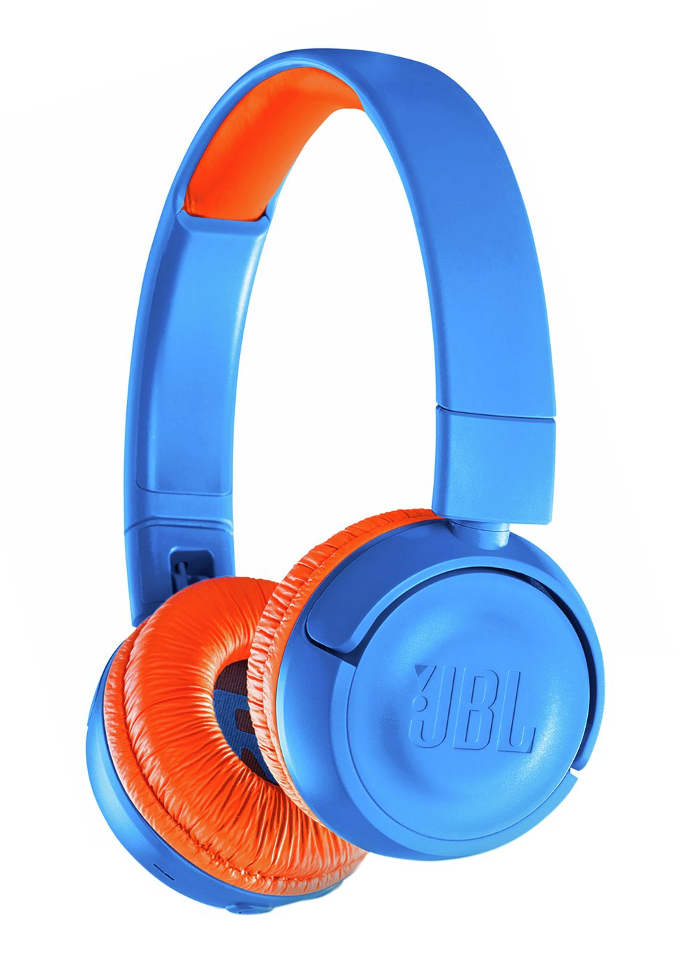 JBL JR300BT Kids Wireless On-Ear Headphones - Blue / Orange