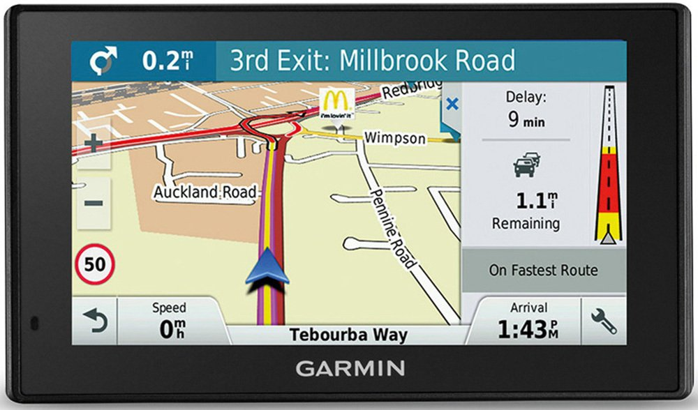 Garmin Drive Assist 51LMT-D EU Sat Nav with Dash Cam & Case