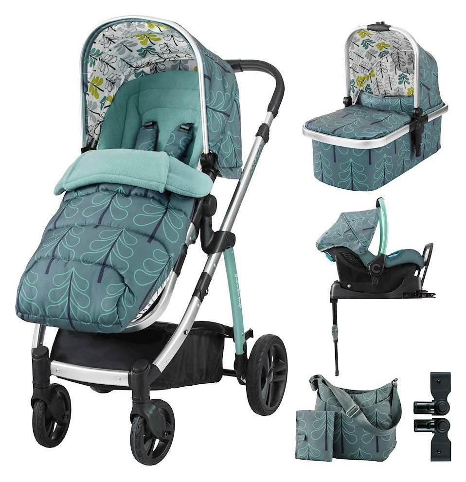 Image of Wow ISOFIX Travel System & Accessories Bundle - Fjord