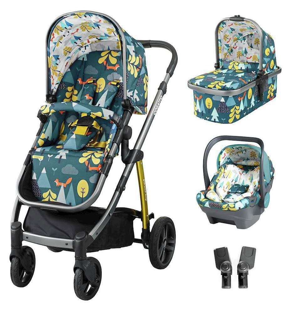 Image of Wow ISIZE Travel System & Accessories Bundle - Foxtale