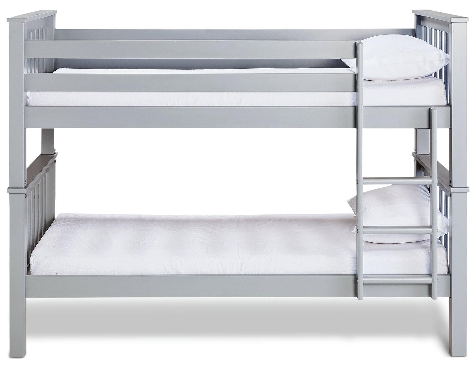 Buy Argos Home Kids Heavy Duty Bunk Bed With 2 Mattresses Grey