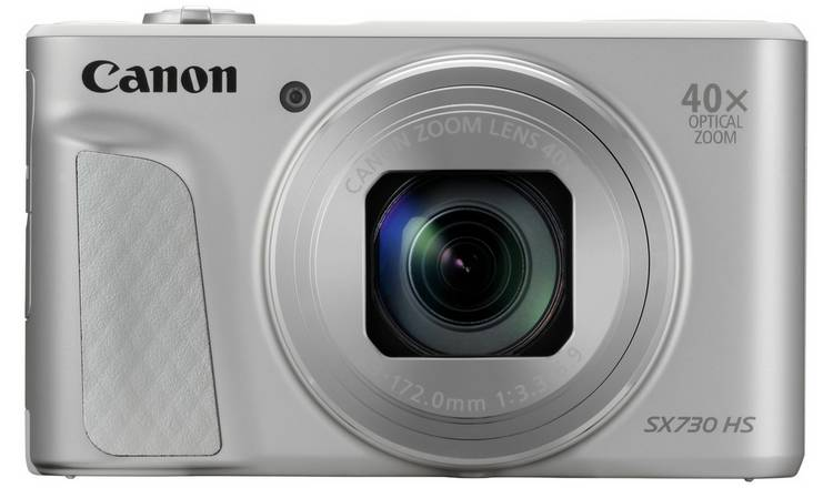 Canon PowerShot SX730 HS 20MP 40x Zoom Camera - Silver