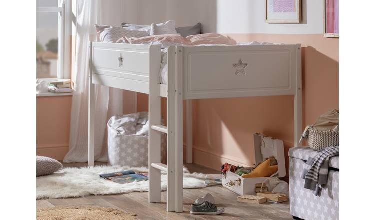 Argos Home Stars Mid Sleeper Bed Frame - White