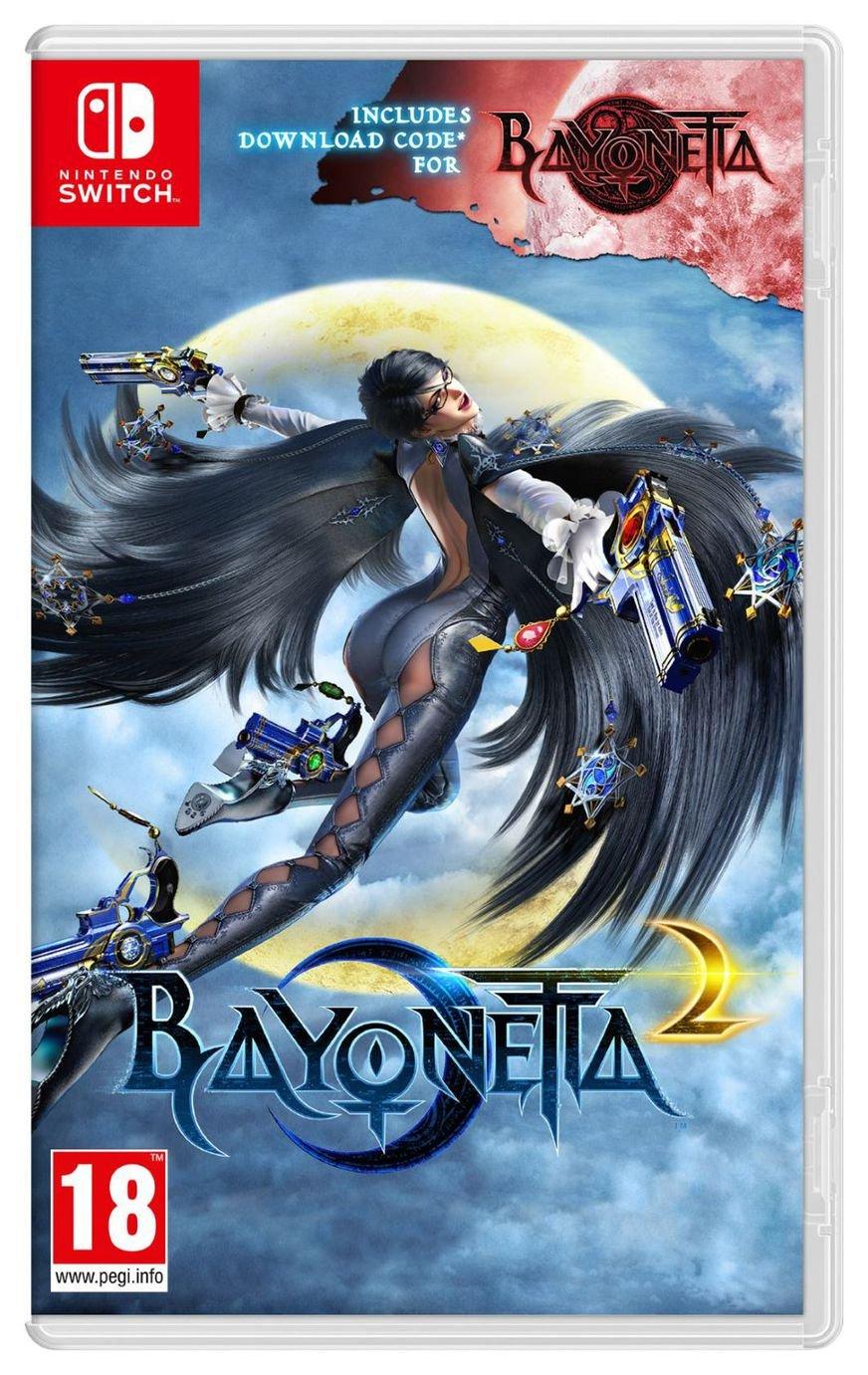 Image of Bayonetta 2 with Bayonetta DDC Nintendo Switch Game