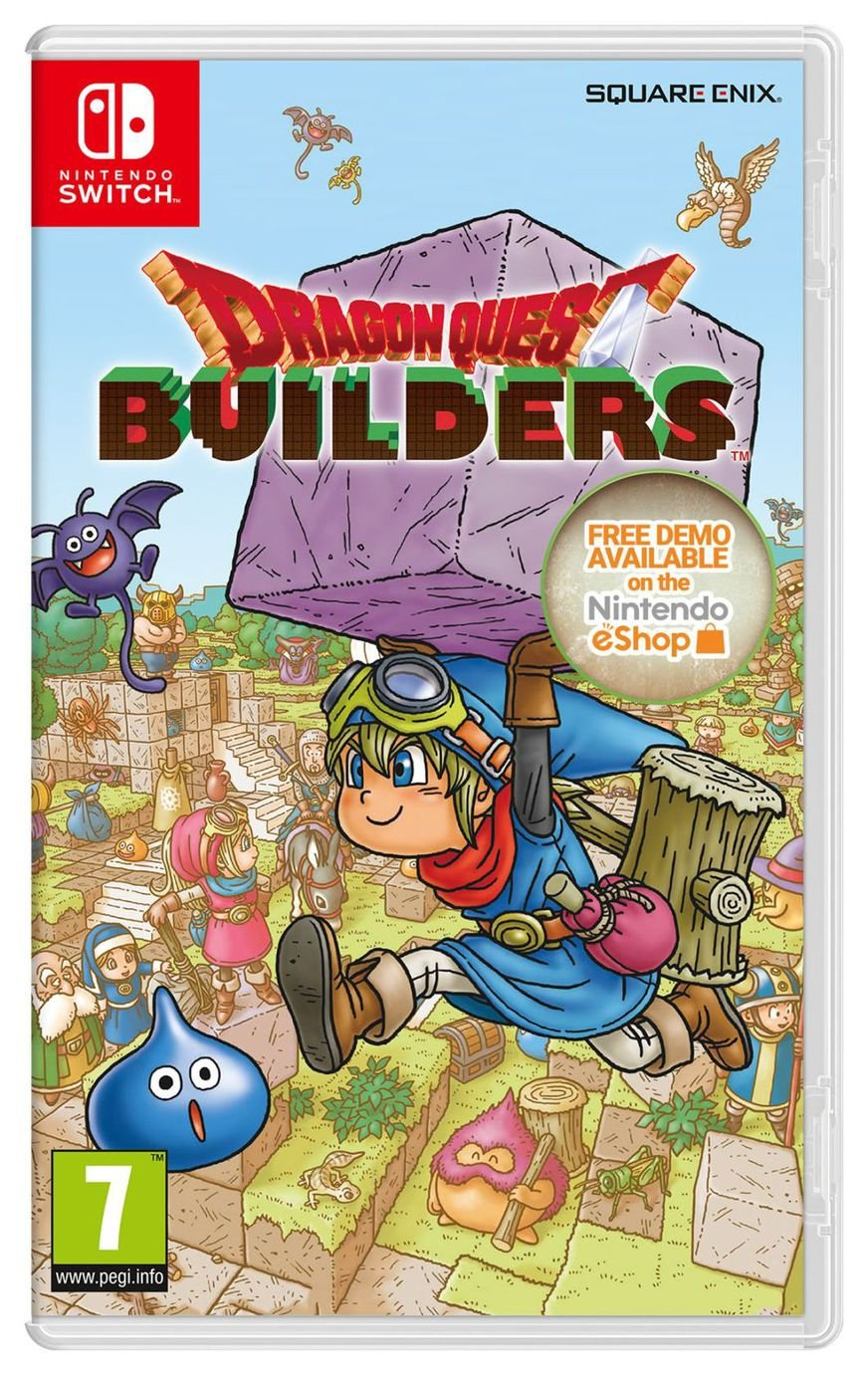 Image of Dragon Quest Builders Nintendo Switch Game