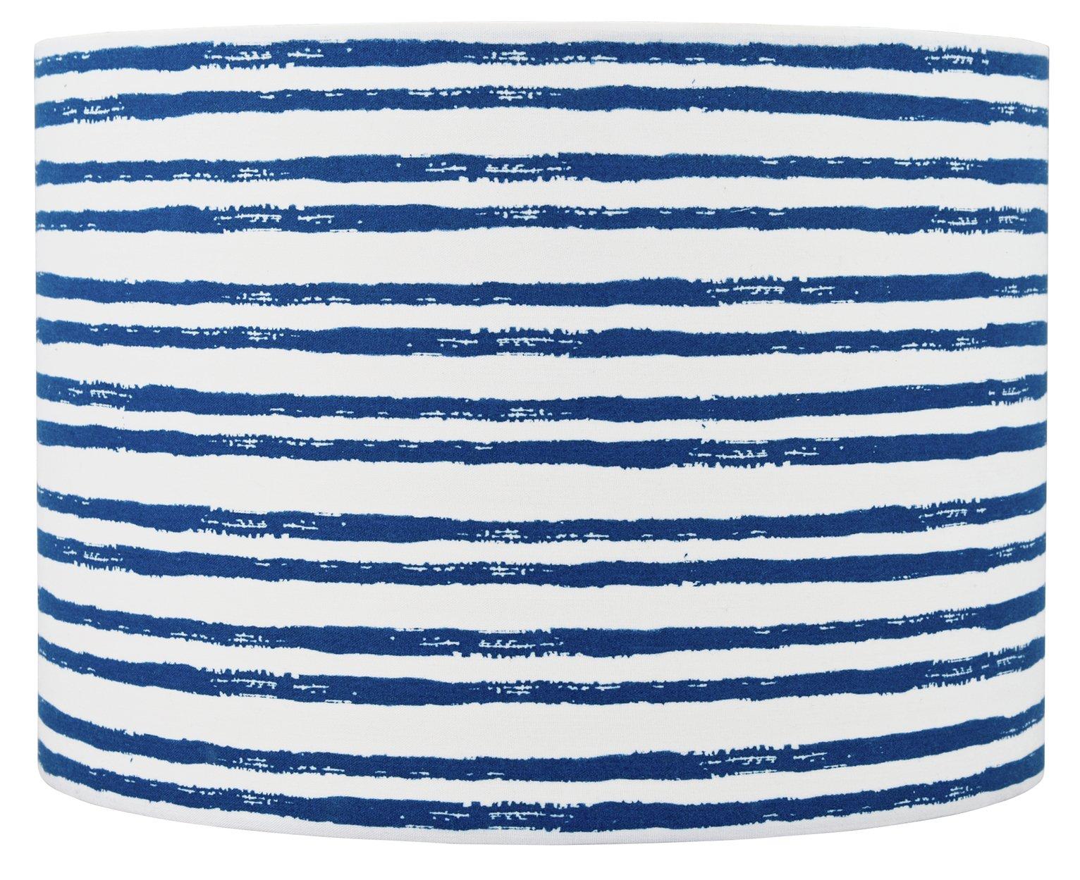 competitive price 7610d b5da2 Argos Home Beach House Fabric Shade - Blue (8053279) | Argos ...
