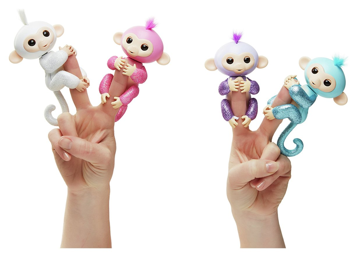 WowWee Fingerlings Glitter Monkey Assortment