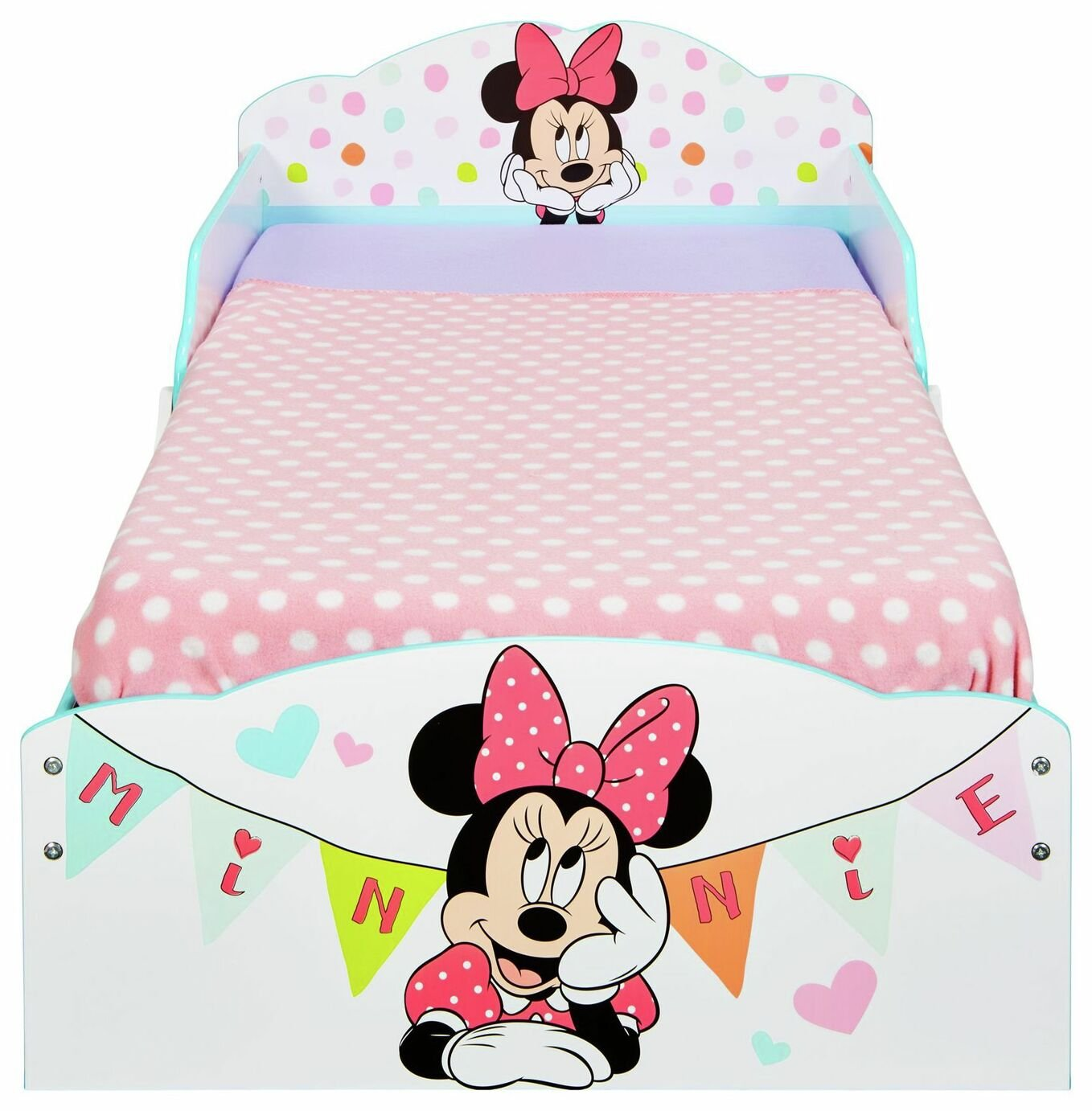 Minnie Mouse Toddler Bed with Underbed Storage Drawers (8053420 ...
