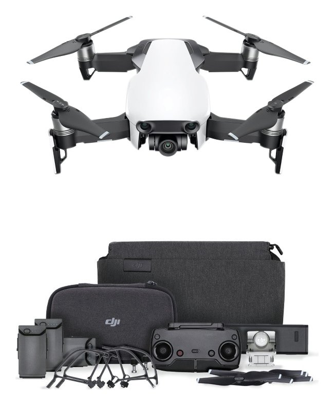Image of DJI Mavic Air Fly More Drone Combo - Artic White