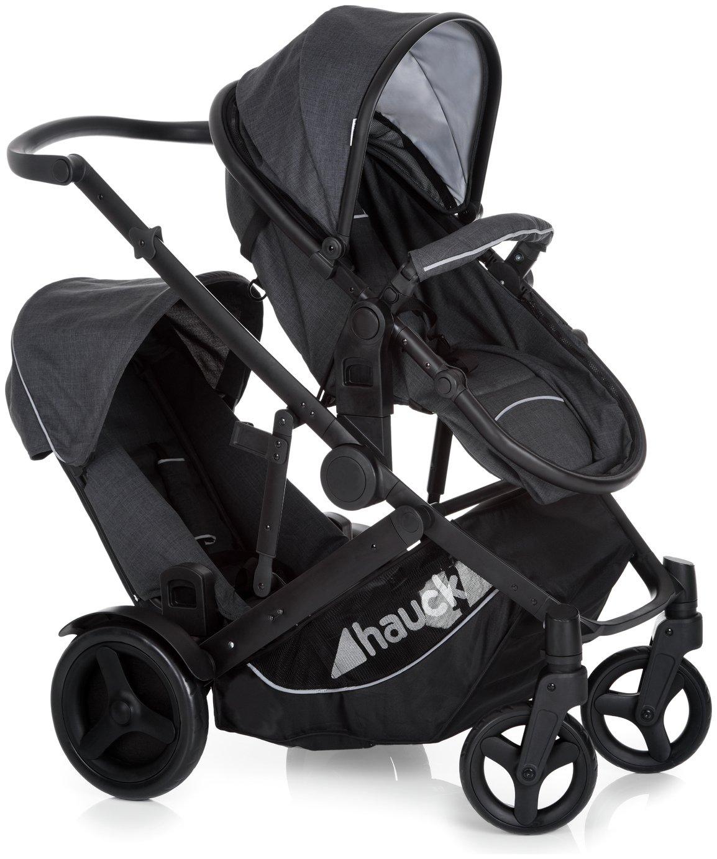 Image of Hauck Duett II Tandem Stroller - Black