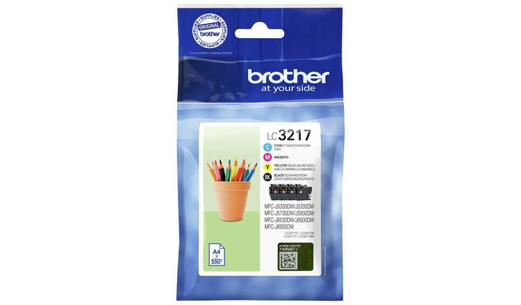 Brother LC3217VAL Ink Cartridges - Black & Colour
