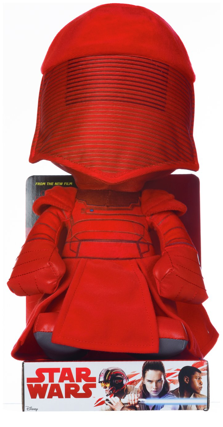 Image of Disney Star Wars EP8 Praetorian Guard Soft Toy