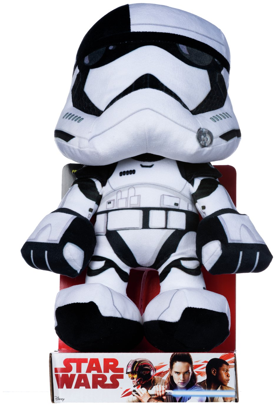 Image of Disney Star Wars EP8 Stormtrooper Executioner Soft Toy