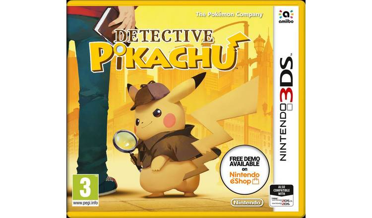 Detective Pikachu Nintendo 3DS Game