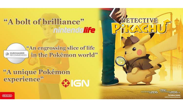 Buy Detective Pikachu Nintendo 3ds Game Nintendo 2ds 2ds Xl And