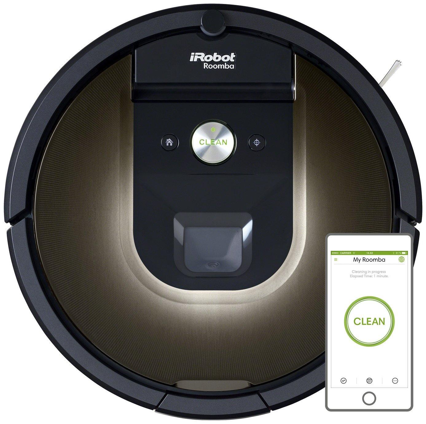 iRobot 980 Roomba Robot Vacuum Cleaner