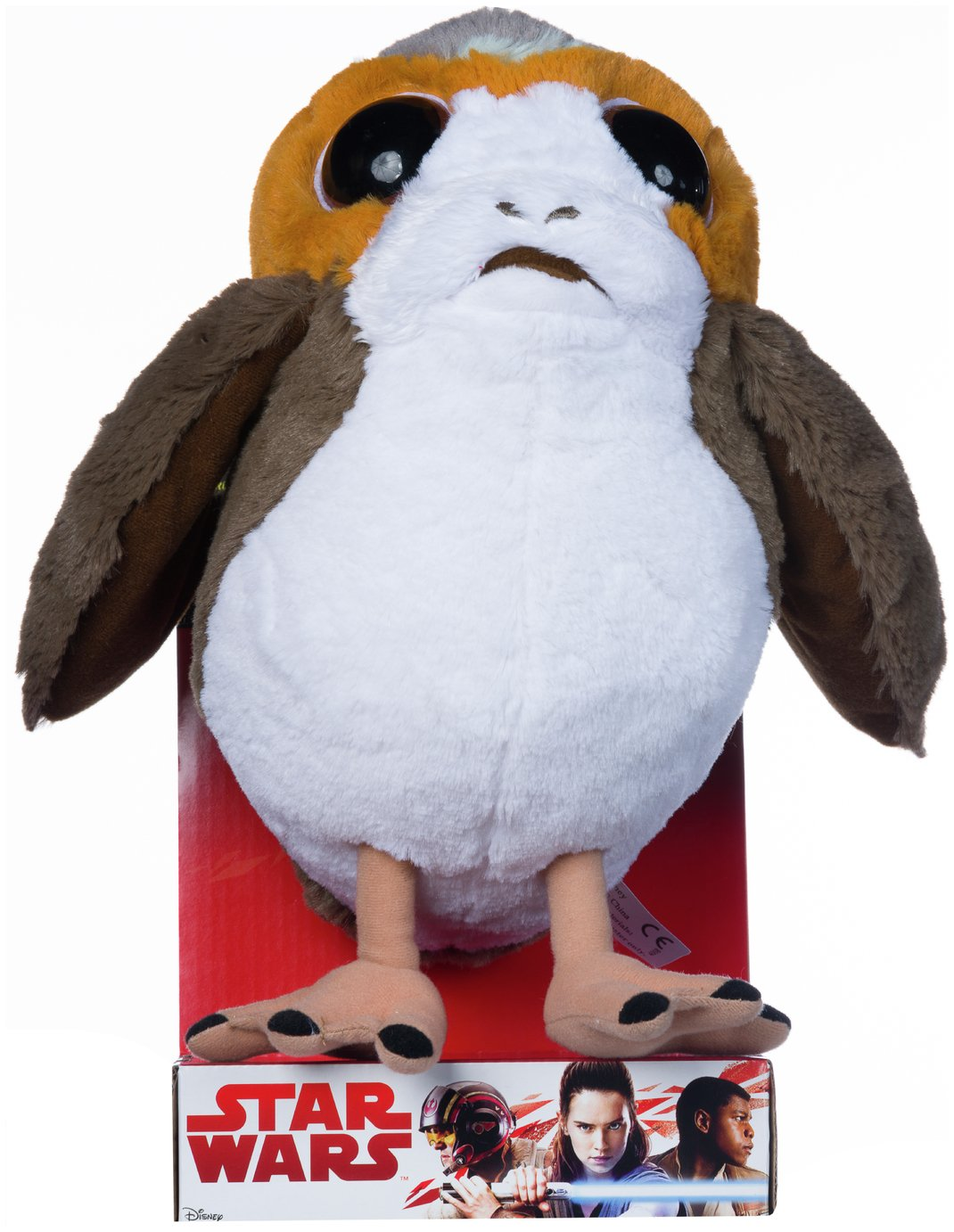 Image of Disney Star Wars EP8 Porg Soft Toy