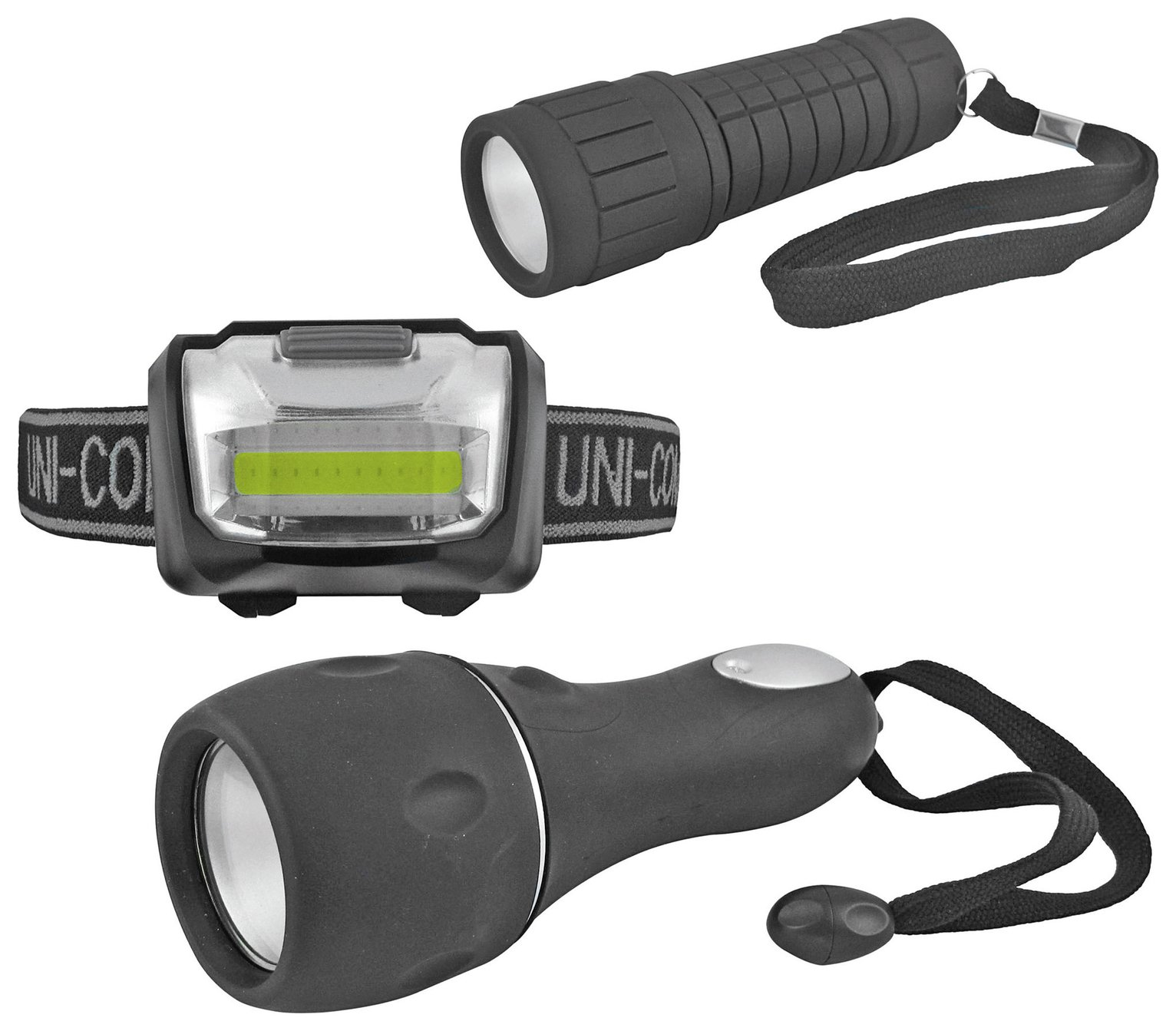 Uni-Com COB LED Torch Set