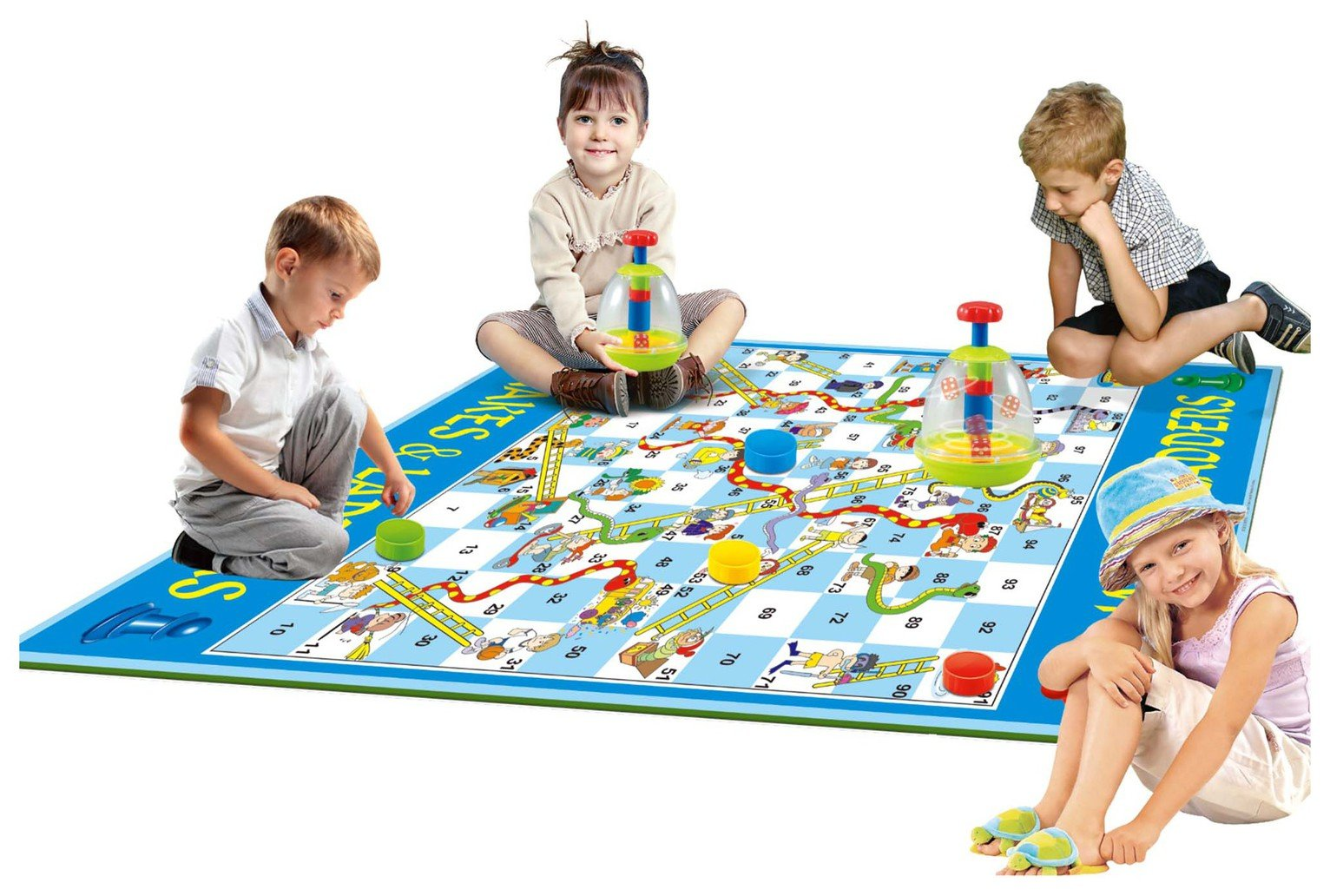 EDUK8 Giant Snakes and Ladders Game