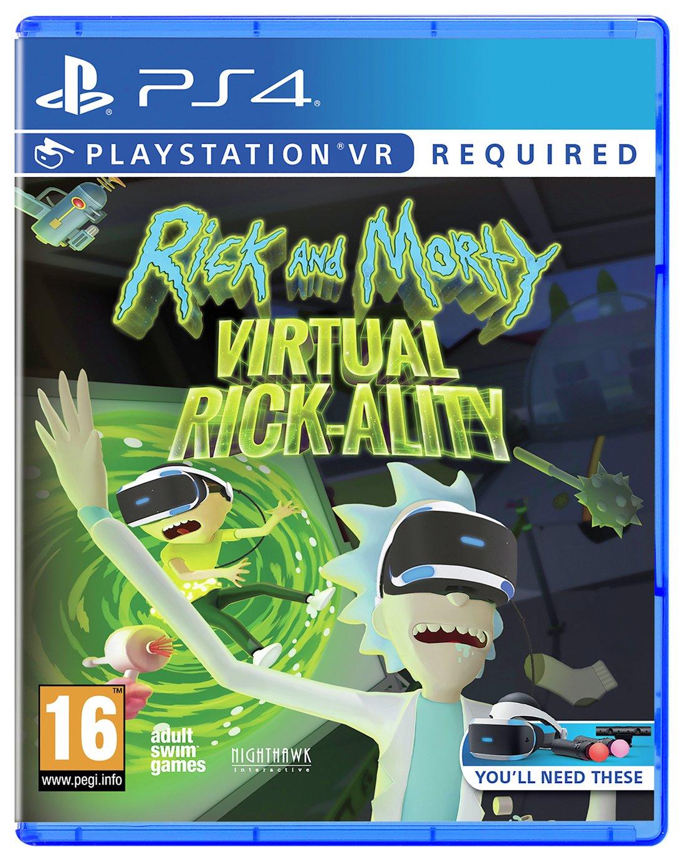 Buy Rick And Morty Virtual Rickality Ps Vr Game Ps4 Ps4 Games