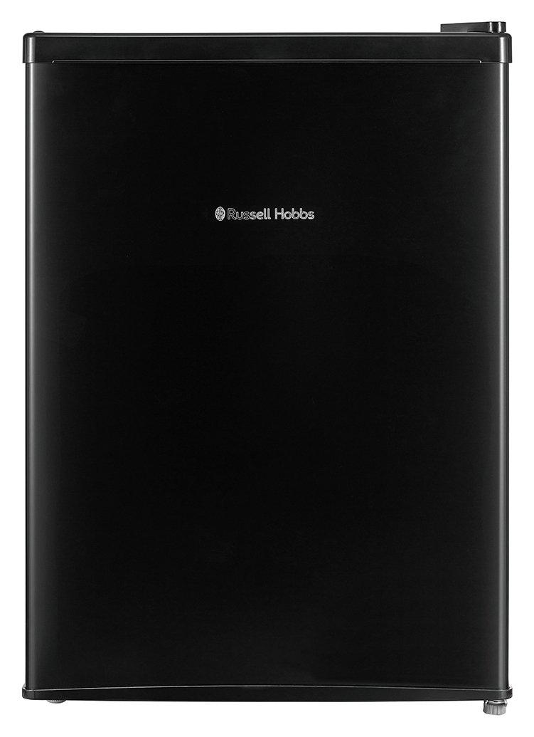 Russell Hobbs RHTTF67B 66 Litre A+ Reversible Doors Table Top Mini Fridge, Black Best Price and Cheapest