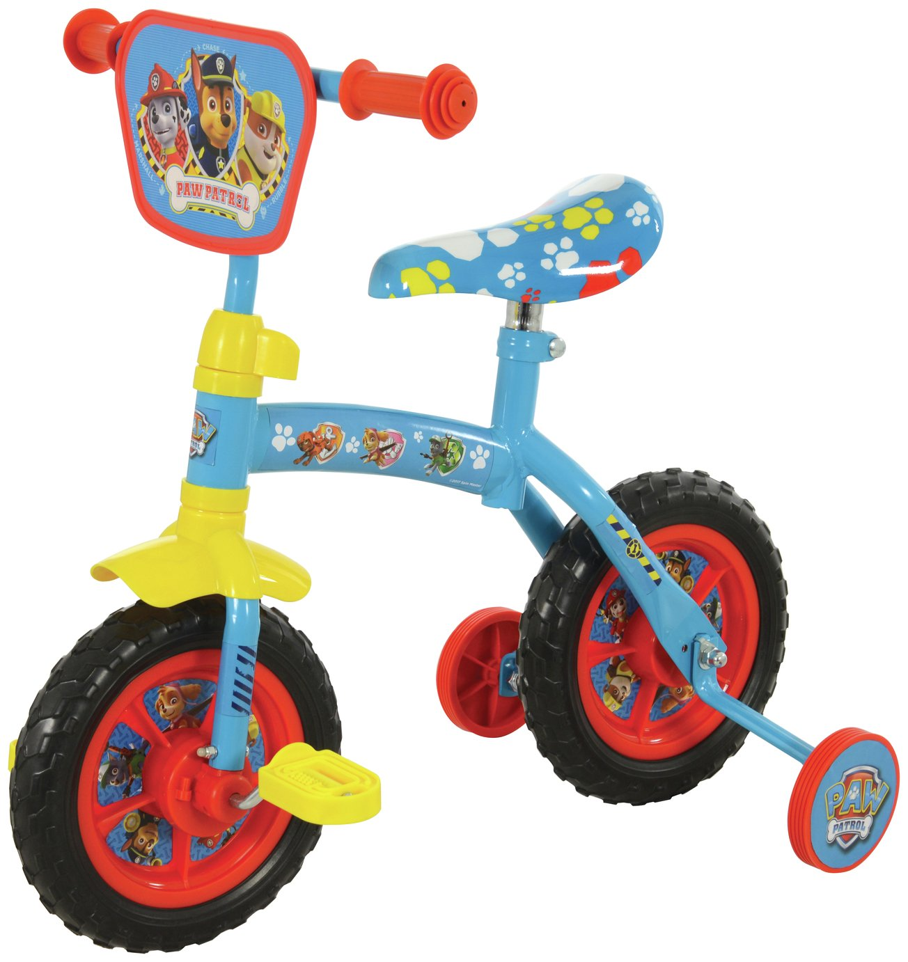 PAW Patrol 2 in 1 Training Bike