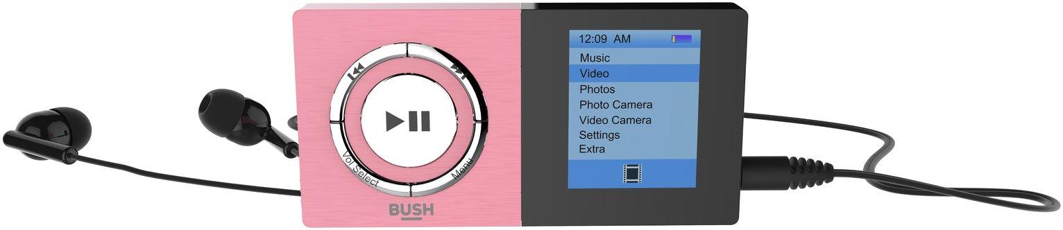 Bush 8GB MP3 Player with Camera - Pink