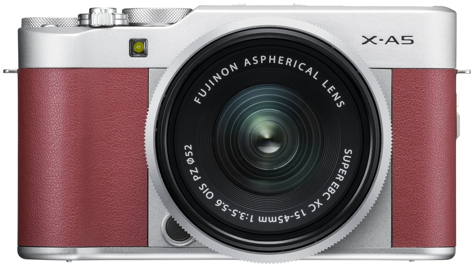 Image of FujiFilm X-A5 XC 24.2MP 15-45mm Compact System Camera - Pink