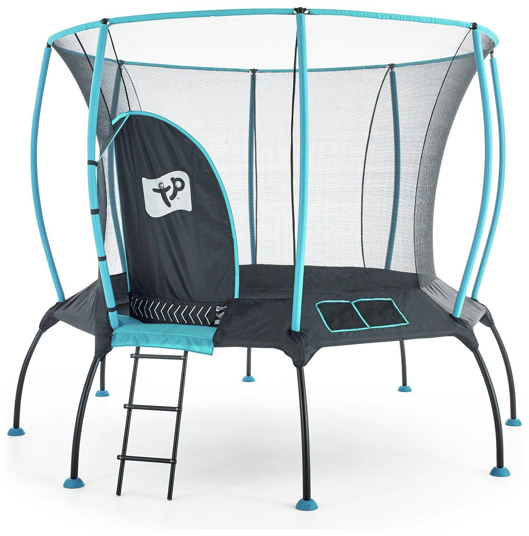 TP 10ft Genius Octagonal Trampoline With Enclosure