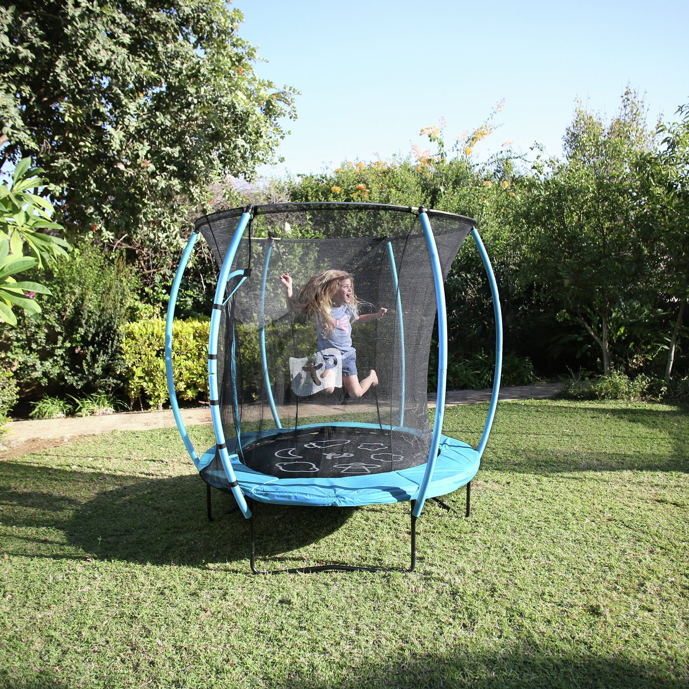 Image of TP 6ft Hip Hop Trampoline with Enclosure