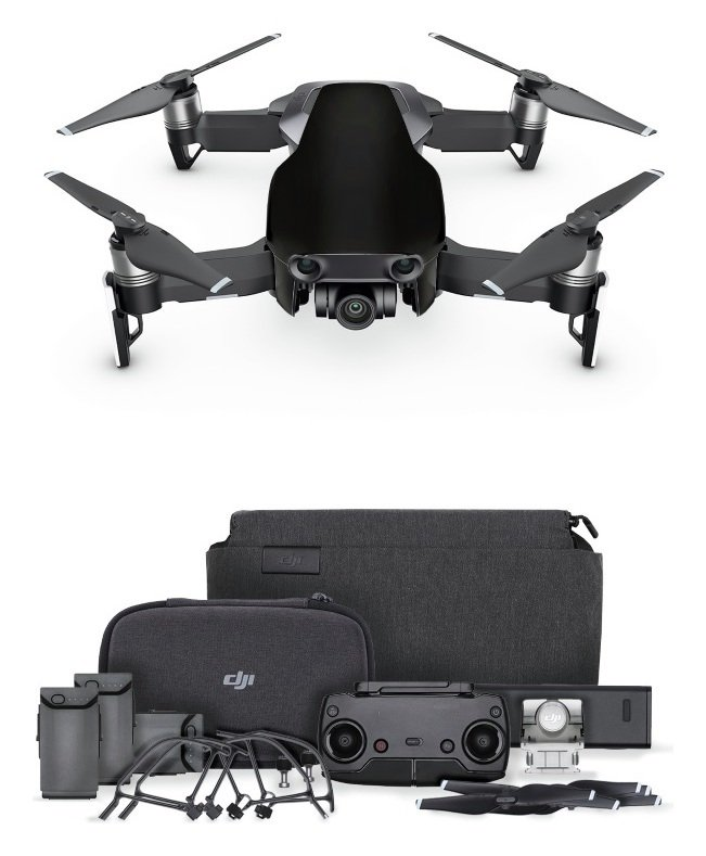 Image of DJI Mavic Air Fly More Drone Combo - Onyx Black