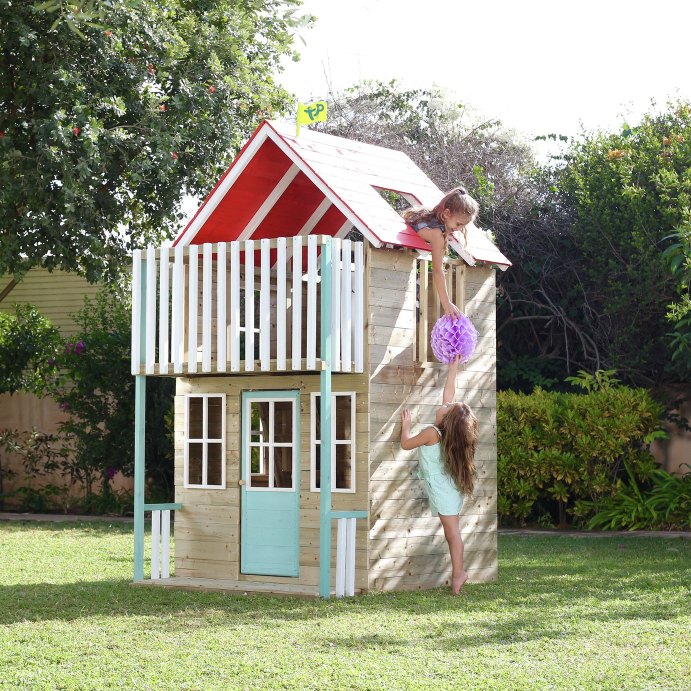 Tp toys TP WEYMOUTH WOODEN PLAYHOUSE