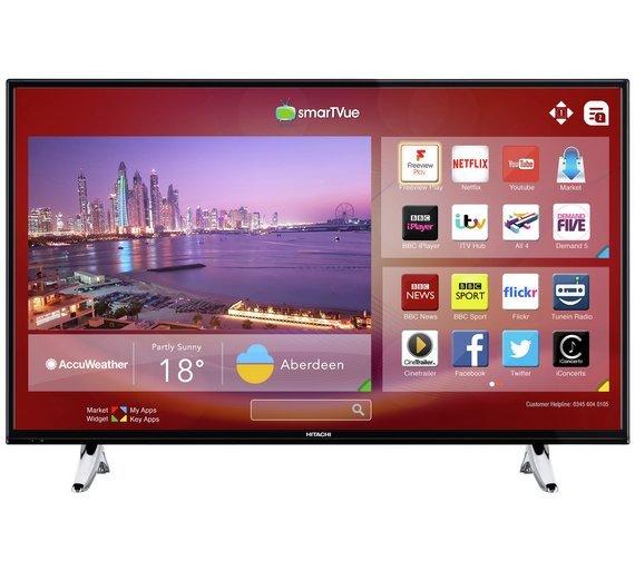 Hitachi 43 Inch Smart Full HD TV / DVD Combi