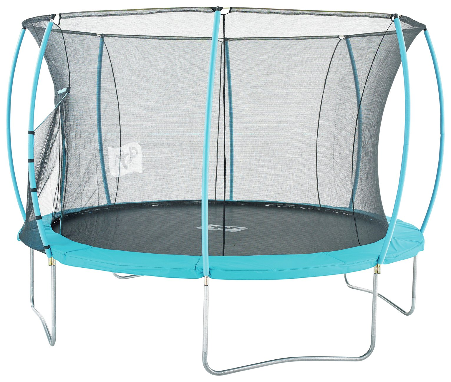 Image of TP 12ft Hip Hop Trampoline with Enclosure