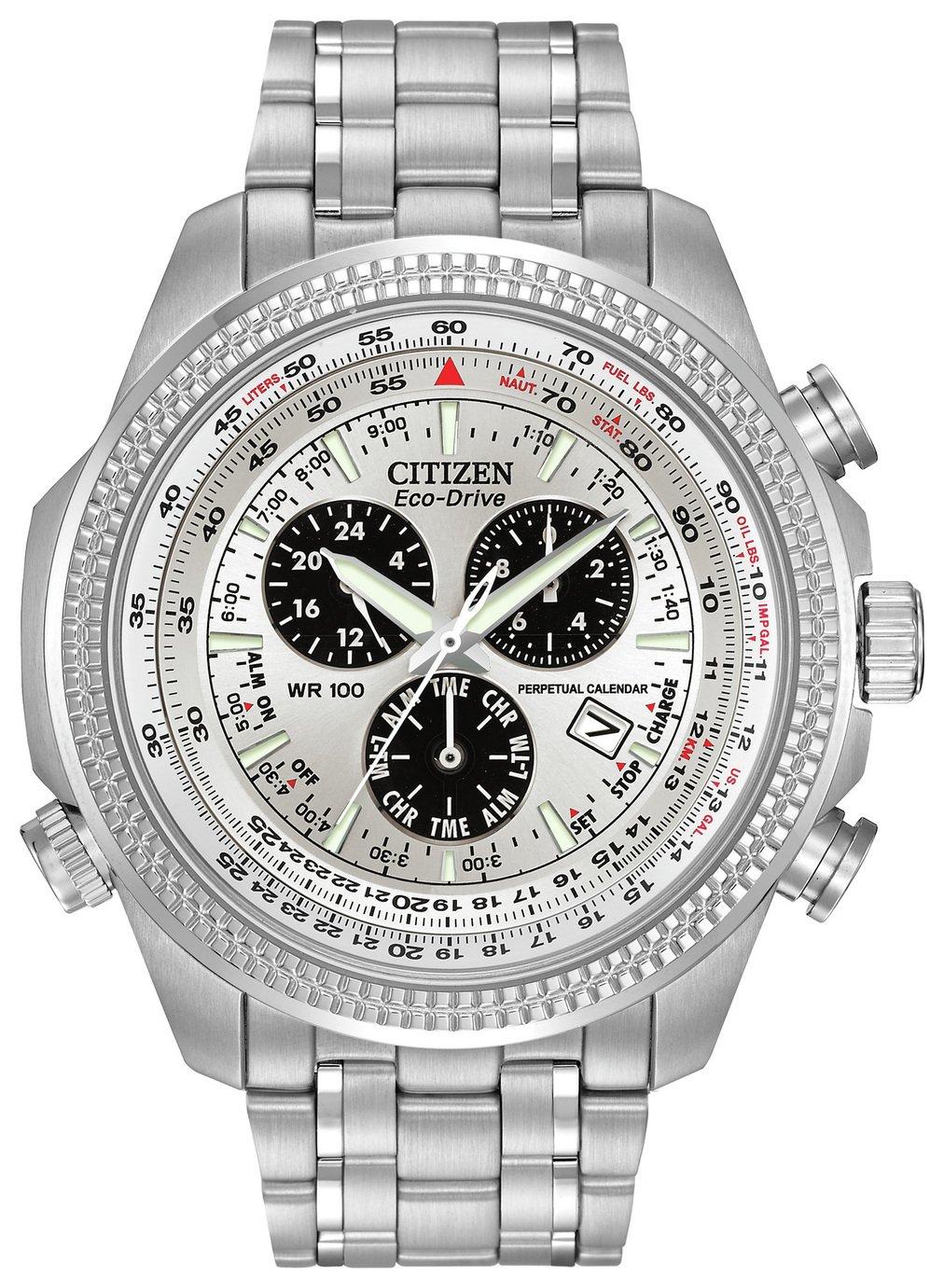 Image of Citizen Men's Eco-Drive Perpetual Calendar Chronograph Watch