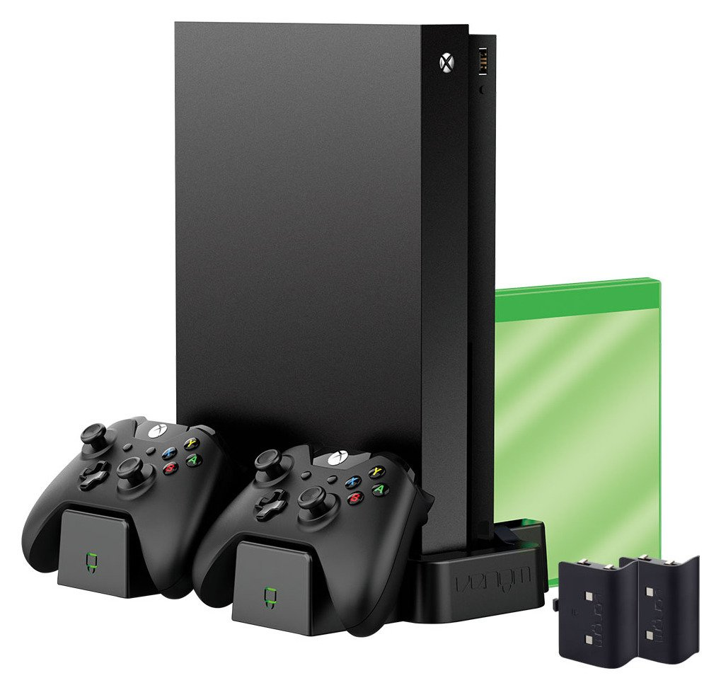 Image of Xbox X and Xbox One S Vertical Charging Stand