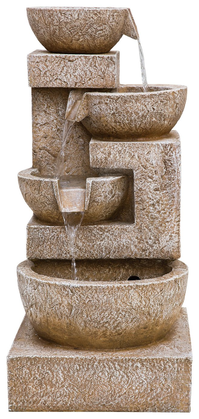 Kelkay Sparkiling Bowls with LED Lighting Water Feature