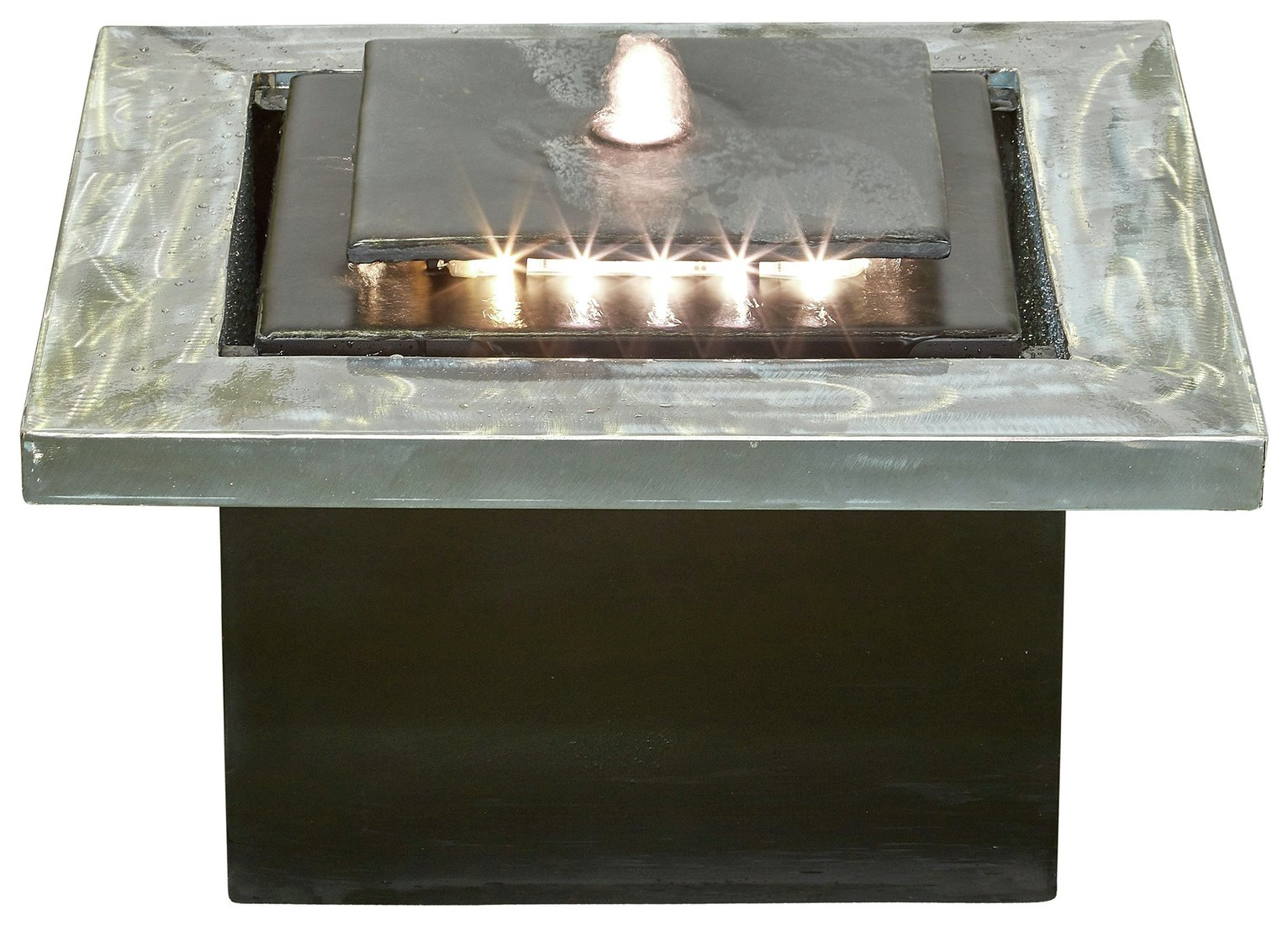 Image of Kelkay Milano Cube with LED Lighting Water Feature