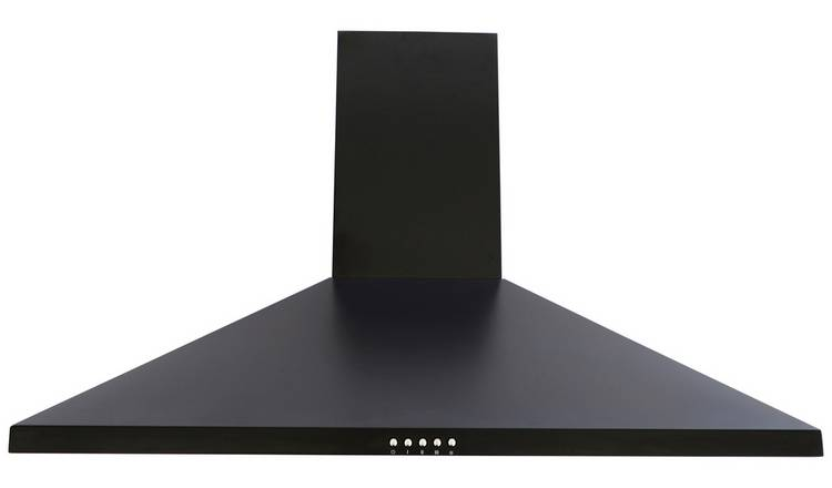 Bush BCH90B 90cm Chimney Cooker Hood - Black