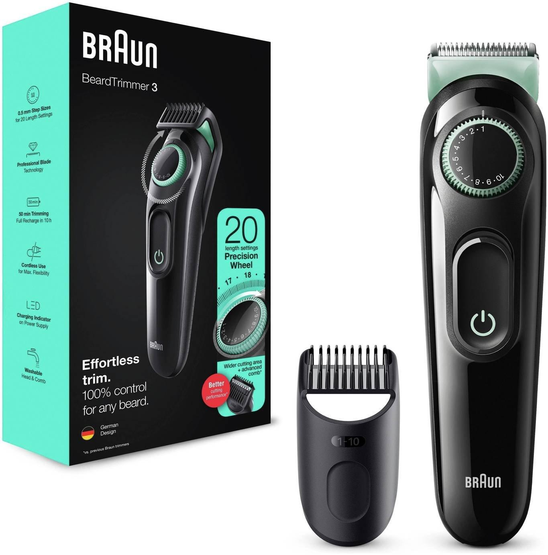 Braun BT3021 Beard Trimmer and Hair Clipper