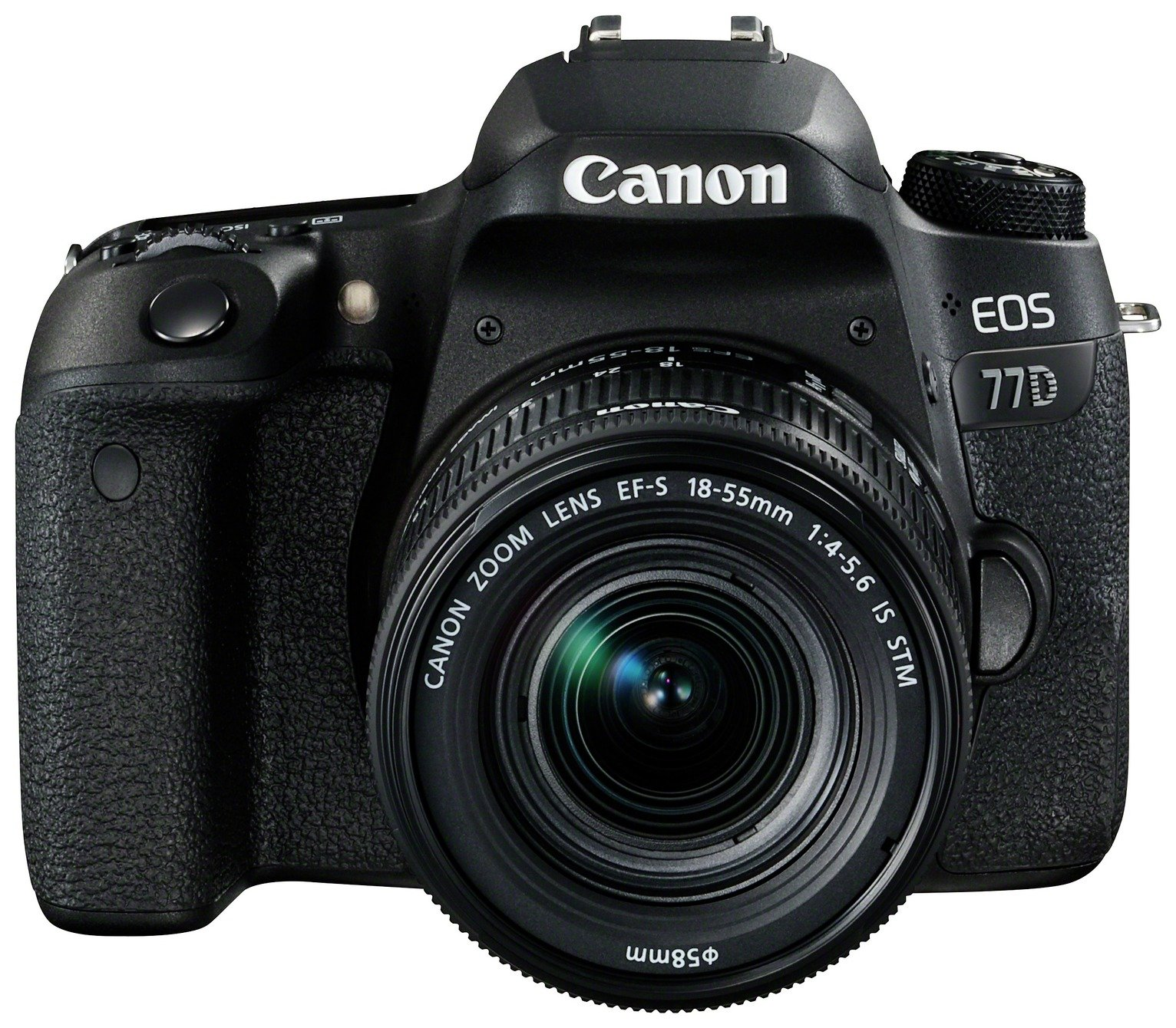 Image of Canon EOS 77D DSLR Camera with 18-55mm Lens
