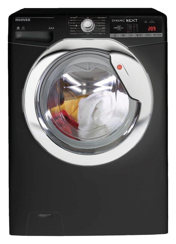 Hoover WDXOA4106HCB 10KG / 6KG 1400 Spin Washer Dryer -Black