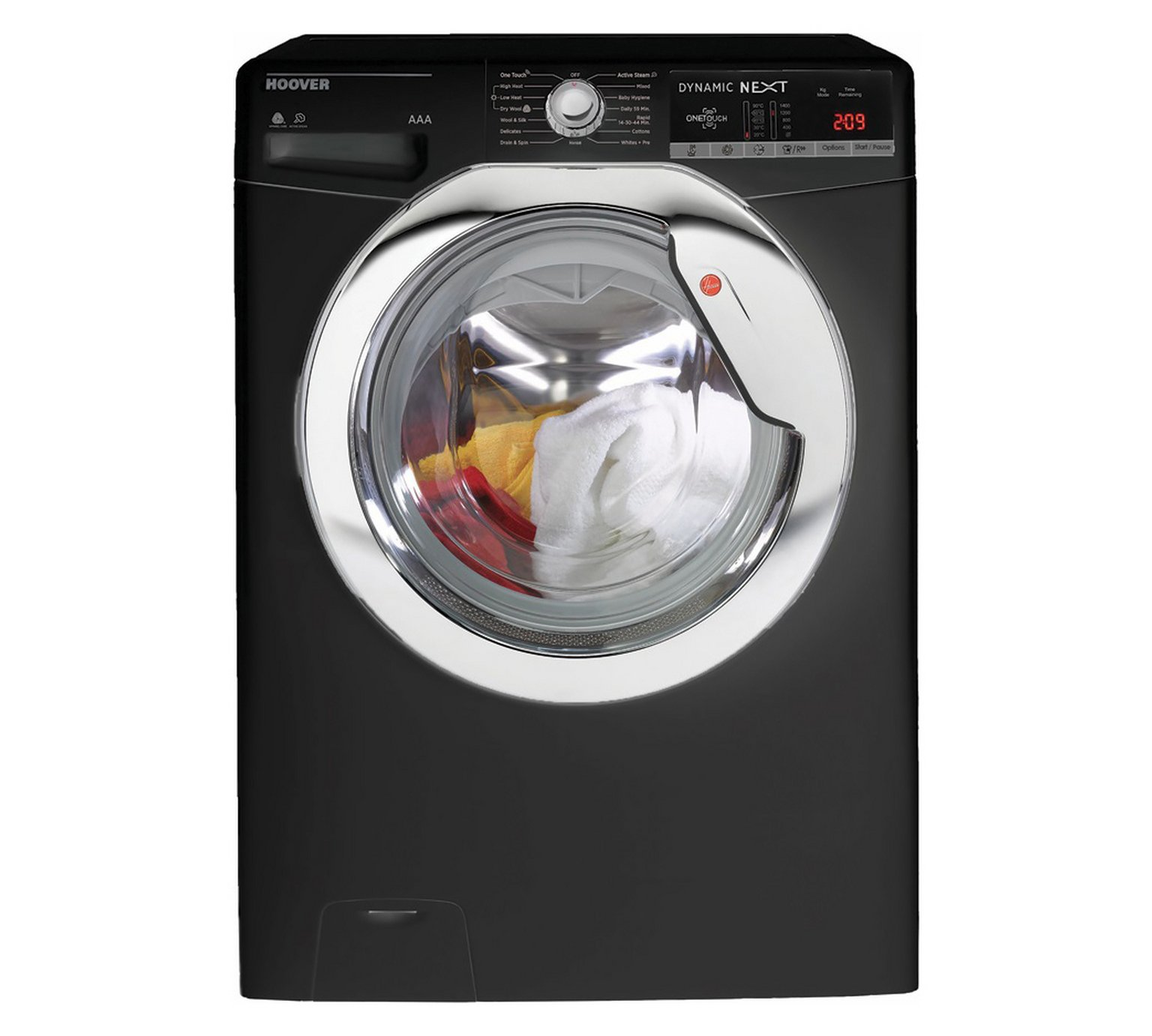 Hoover WDXOA4106HCB 10KG / 6KG 1400 Spin Washer Dryer -Black