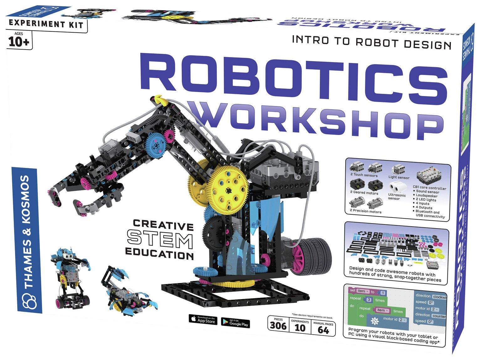 Thames and Kosmos Robiotics Robot Assembly Workshop
