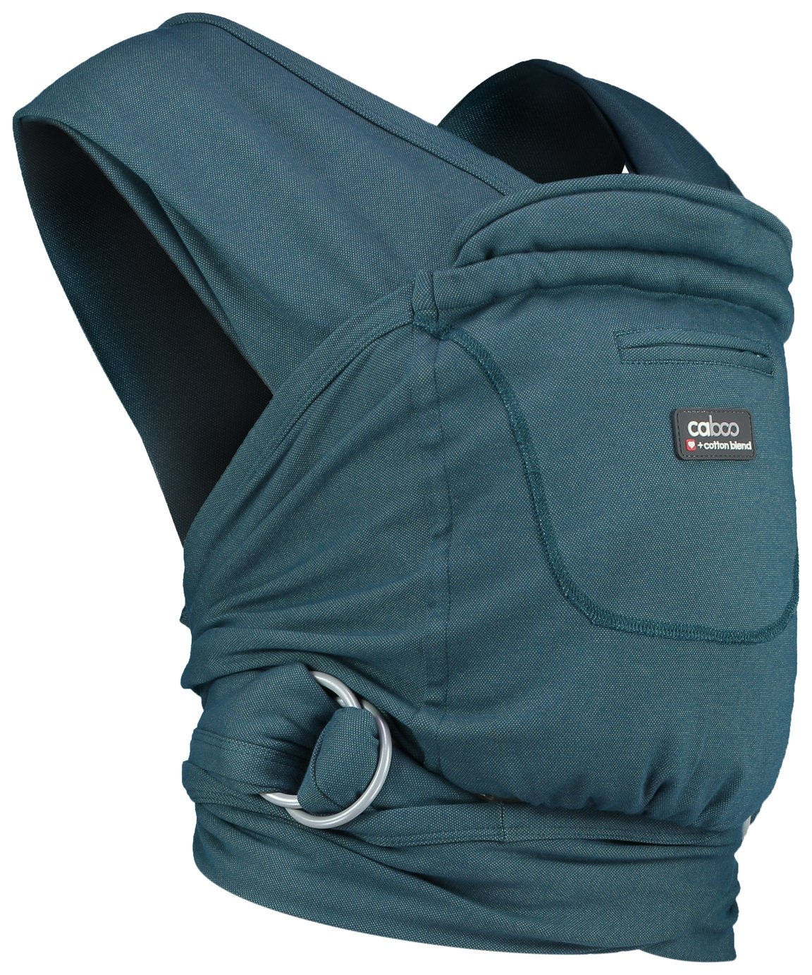 Image of Caboo + Cotton Blend Newborn Baby Carrier - Balsam