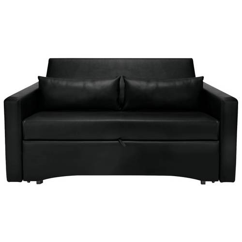 online store 9784c 486d6 Buy Argos Home Reagan 2 Seater Faux Leather Sofa Bed - Black   Sofa beds    Argos